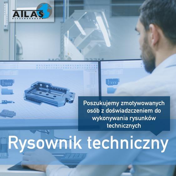 Praca dla Rysownika Technicznego/Projektanta